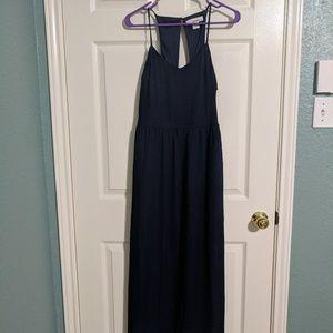 Sans Souci Navy Blue Maxi Dress
